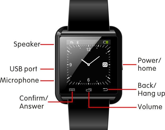 smartwatch u8-2